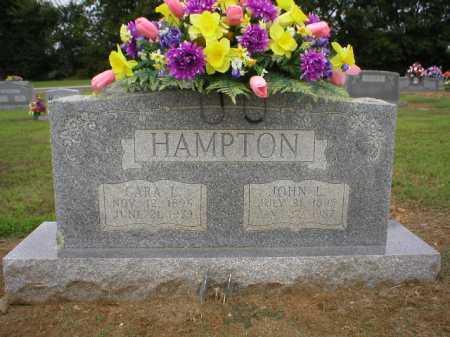 HAMPTON, JOHN L. - Logan County, Arkansas | JOHN L. HAMPTON - Arkansas Gravestone Photos