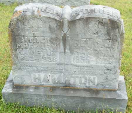 HAMPTON, STACY - Logan County, Arkansas | STACY HAMPTON - Arkansas Gravestone Photos