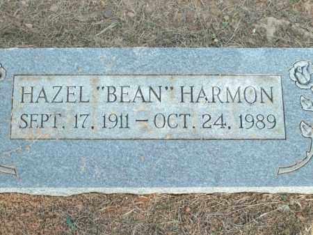 "HARMON, HAZEL ""BEAN"" - Logan County, Arkansas   HAZEL ""BEAN"" HARMON - Arkansas Gravestone Photos"