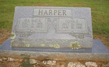 HARPER, IRA MACK - Logan County, Arkansas | IRA MACK HARPER - Arkansas Gravestone Photos