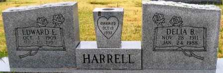 HARRELL, DELIA B. - Logan County, Arkansas | DELIA B. HARRELL - Arkansas Gravestone Photos