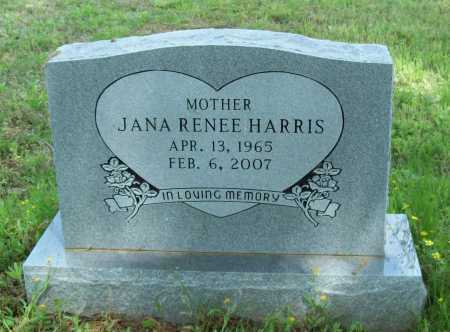 HARRIS, JANA RENEE - Logan County, Arkansas | JANA RENEE HARRIS - Arkansas Gravestone Photos