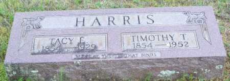 HARRIS, TACY E. - Logan County, Arkansas | TACY E. HARRIS - Arkansas Gravestone Photos