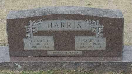 HARRIS, THOMAS J - Logan County, Arkansas   THOMAS J HARRIS - Arkansas Gravestone Photos