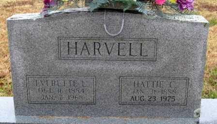 HARVELL, HATTIE C. - Logan County, Arkansas   HATTIE C. HARVELL - Arkansas Gravestone Photos