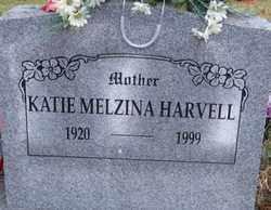 COX HARVELL, KATIE MELZINA - Logan County, Arkansas | KATIE MELZINA COX HARVELL - Arkansas Gravestone Photos