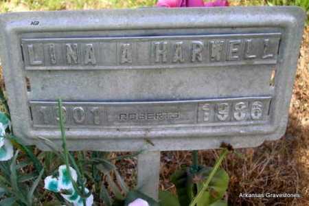 HARWELL, LINA A. - Logan County, Arkansas | LINA A. HARWELL - Arkansas Gravestone Photos