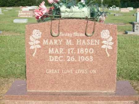 HASEN, MARY M. - Logan County, Arkansas | MARY M. HASEN - Arkansas Gravestone Photos