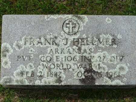 HELLMER (VETERAN WWI), FRANK - Logan County, Arkansas | FRANK HELLMER (VETERAN WWI) - Arkansas Gravestone Photos