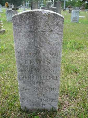 HELLMER, LEWIS - Logan County, Arkansas | LEWIS HELLMER - Arkansas Gravestone Photos