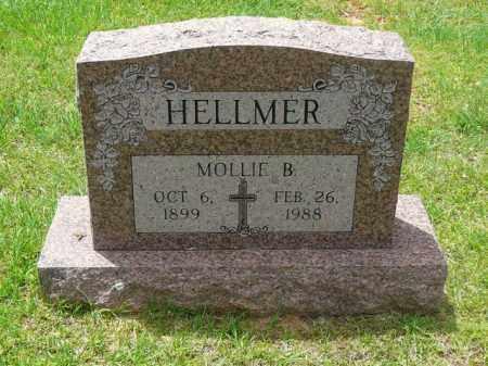 HELLMER, MOLLIE - Logan County, Arkansas | MOLLIE HELLMER - Arkansas Gravestone Photos