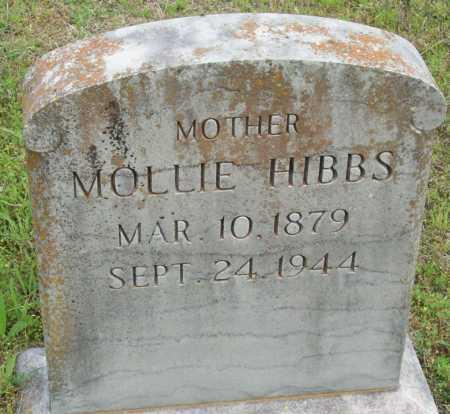 HIBBS, MOLLIE - Logan County, Arkansas | MOLLIE HIBBS - Arkansas Gravestone Photos