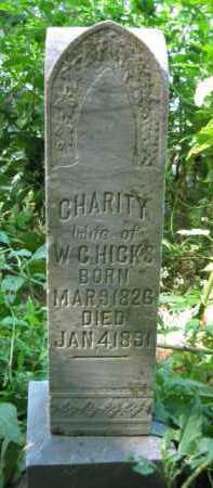 HICKS, CHARITY - Logan County, Arkansas   CHARITY HICKS - Arkansas Gravestone Photos