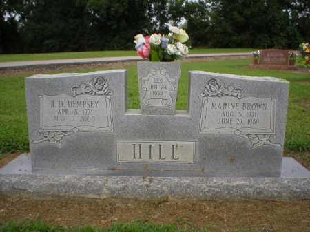 HILL, J. D. DEMPSEY - Logan County, Arkansas | J. D. DEMPSEY HILL - Arkansas Gravestone Photos