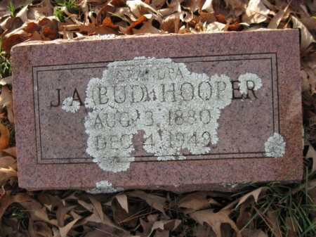 HOOPER, J A  (BUD) - Logan County, Arkansas | J A  (BUD) HOOPER - Arkansas Gravestone Photos