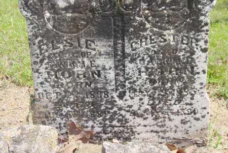 HORN, ELSIE - Logan County, Arkansas | ELSIE HORN - Arkansas Gravestone Photos