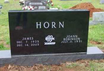 HORN, JAMES - Logan County, Arkansas | JAMES HORN - Arkansas Gravestone Photos
