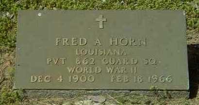 HORN (VETERAN WWII), FRED ANCIL - Logan County, Arkansas   FRED ANCIL HORN (VETERAN WWII) - Arkansas Gravestone Photos