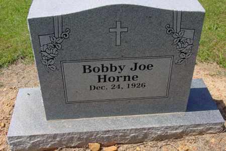 HORNE, BOBBY JOE - Logan County, Arkansas   BOBBY JOE HORNE - Arkansas Gravestone Photos