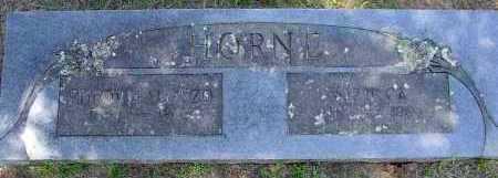 HORNE, ALLIE CATHERINE - Logan County, Arkansas | ALLIE CATHERINE HORNE - Arkansas Gravestone Photos