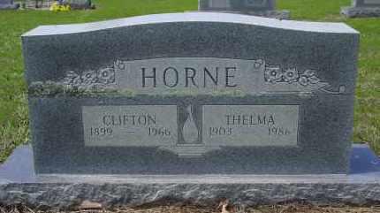 HORNE, CLIFTON - Logan County, Arkansas | CLIFTON HORNE - Arkansas Gravestone Photos