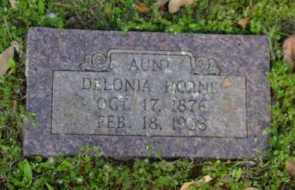 HORNE, DELONIA - Logan County, Arkansas | DELONIA HORNE - Arkansas Gravestone Photos