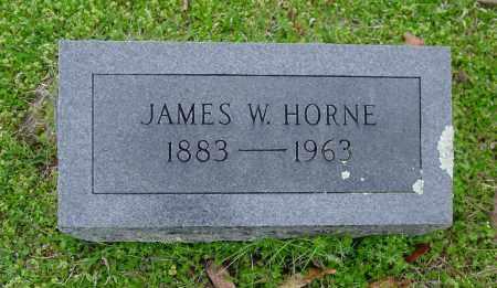 HORNE, JAMES WESLEY - Logan County, Arkansas | JAMES WESLEY HORNE - Arkansas Gravestone Photos