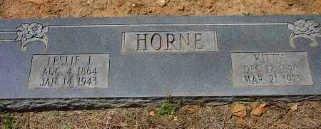 CROSSNO HORNE, AGNES (KITTY) - Logan County, Arkansas   AGNES (KITTY) CROSSNO HORNE - Arkansas Gravestone Photos
