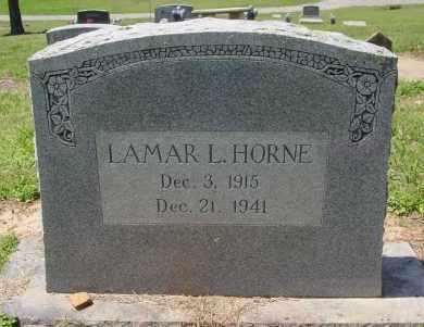HORNE, LAMAR L. - Logan County, Arkansas   LAMAR L. HORNE - Arkansas Gravestone Photos