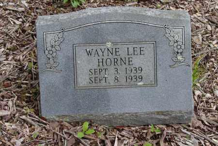 HORNE, WAYNE LEE - Logan County, Arkansas | WAYNE LEE HORNE - Arkansas Gravestone Photos