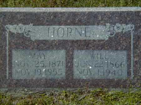 BURNHAM HORNE, AMERICA ANN - Logan County, Arkansas | AMERICA ANN BURNHAM HORNE - Arkansas Gravestone Photos