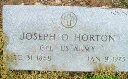 HORTON (VETERAN), JOSEPH O - Logan County, Arkansas   JOSEPH O HORTON (VETERAN) - Arkansas Gravestone Photos