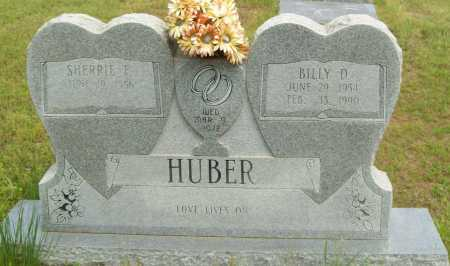 HUBER, BILLY D. - Logan County, Arkansas   BILLY D. HUBER - Arkansas Gravestone Photos