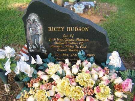 HUDSON, RICHY - Logan County, Arkansas   RICHY HUDSON - Arkansas Gravestone Photos