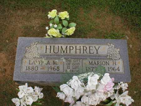 HUMPHREY, MARION H. - Logan County, Arkansas | MARION H. HUMPHREY - Arkansas Gravestone Photos