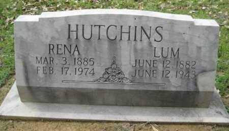 HUTCHINS, LUM - Logan County, Arkansas   LUM HUTCHINS - Arkansas Gravestone Photos