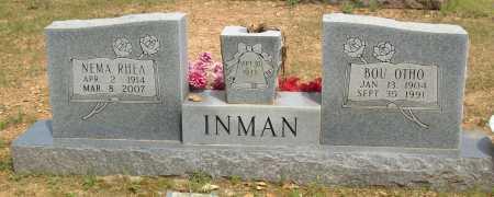 INMAN, NEMA RHEA - Logan County, Arkansas | NEMA RHEA INMAN - Arkansas Gravestone Photos
