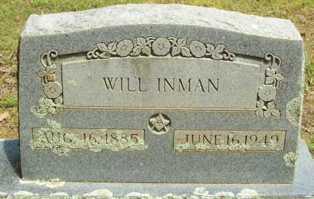 INMAN, WILL - Logan County, Arkansas   WILL INMAN - Arkansas Gravestone Photos