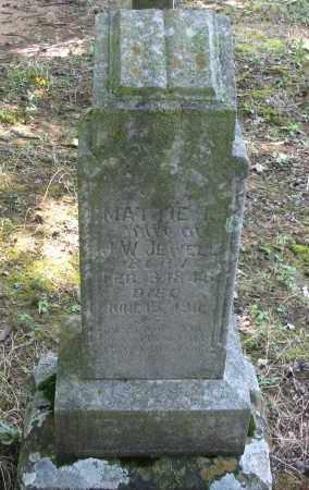 JEWELL, MATTIE L - Logan County, Arkansas   MATTIE L JEWELL - Arkansas Gravestone Photos