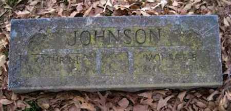 JOHNSON, MONROE E - Logan County, Arkansas | MONROE E JOHNSON - Arkansas Gravestone Photos