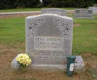 JOHNSON, TENA - Logan County, Arkansas | TENA JOHNSON - Arkansas Gravestone Photos
