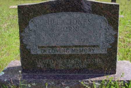 WOODS JONES HORN, RILLA V. - Logan County, Arkansas | RILLA V. WOODS JONES HORN - Arkansas Gravestone Photos