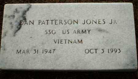 JONES, JR. (VETERAN VIET), DAN PATTERSON - Logan County, Arkansas   DAN PATTERSON JONES, JR. (VETERAN VIET) - Arkansas Gravestone Photos