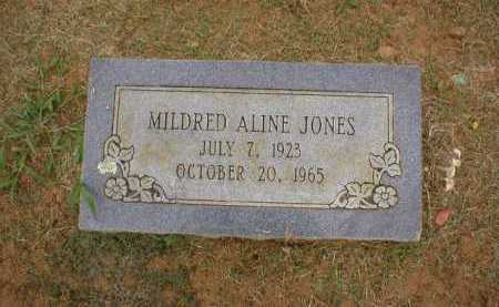 JONES, MILDRED ALINE - Logan County, Arkansas   MILDRED ALINE JONES - Arkansas Gravestone Photos