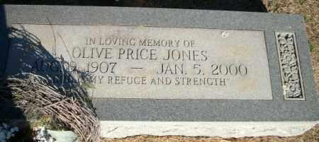 JONES, OLIVE - Logan County, Arkansas | OLIVE JONES - Arkansas Gravestone Photos