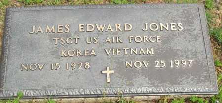 JONES (VETERAN 2 WARS), JAMES EDWARD - Logan County, Arkansas | JAMES EDWARD JONES (VETERAN 2 WARS) - Arkansas Gravestone Photos