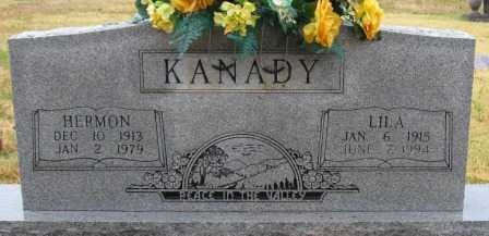 KANADY, LILA - Logan County, Arkansas | LILA KANADY - Arkansas Gravestone Photos
