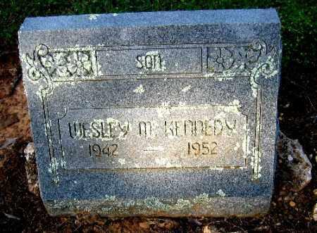 KENNEDY, WESLEY M. - Logan County, Arkansas   WESLEY M. KENNEDY - Arkansas Gravestone Photos