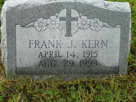 KERN, FRANK - Logan County, Arkansas | FRANK KERN - Arkansas Gravestone Photos