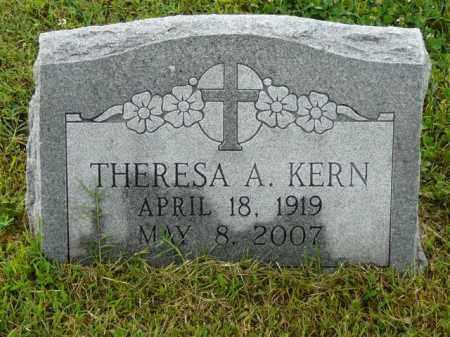 KERN, THERESA - Logan County, Arkansas | THERESA KERN - Arkansas Gravestone Photos